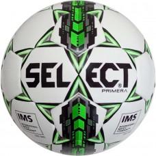 Мяч футбольный SELECT PRIMERA IMS бело/серо/зеленый размер 5