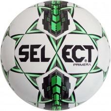 Мяч футбольный SELECT PRIMERA бело/серо/зеленый размер 4