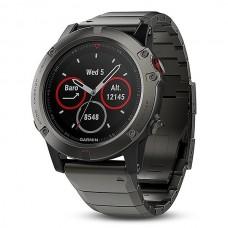 Мультиспортивные часы навигатор пульсометр Garmin Fenix 5X Sapphire 010-01733-03