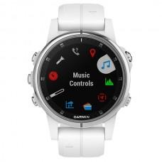 Мультиспортивные часы пульсометр навигатор Garmin Fenix 5S Plus Sapphire 010-01987-01