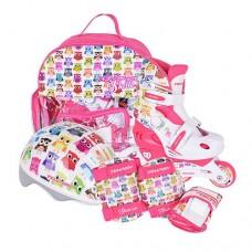 Роликовые коньки раздвижные в комплекте детские Tempish OWL Baby skate 1000000006