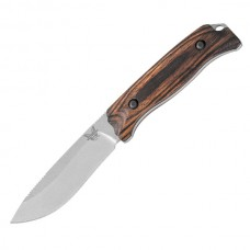 "Нож Benchmade ""Saddle MTN"" Skinner FB Wood арт 15001-2"