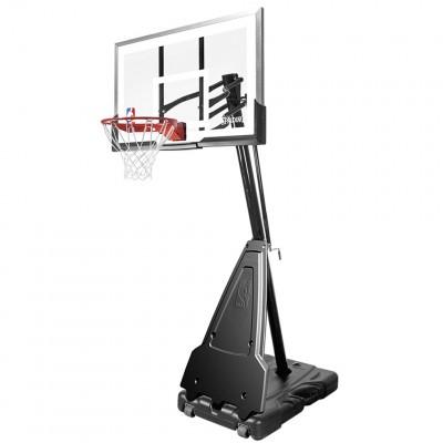 """Баскетбольная стойка мобильная Spalding Portable Acrylic 60"""" 68562CN"""