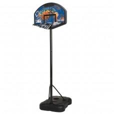 """Баскетбольная стойка мобильная Spalding Sketch Series Composite Fan 32"""" 58921CN"""