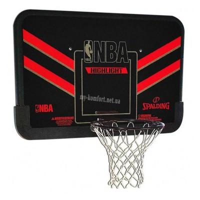 "Баскетбольный щит Spalding NBA Highlight 44"" арт 80798CN"