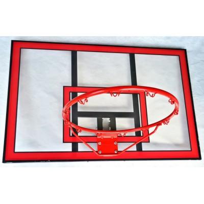 Баскетбольный щит Vigor BB001 поликарбонат 112x75