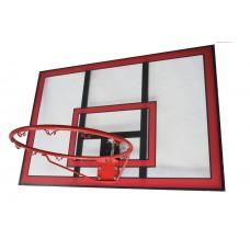 Баскетбольный щит поликарбонат Vigor 121x80 см BB002