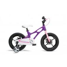 "Велосипед детский RoyalBaby SPACE SHUTTLE 14"" арт RB14-22-PRL, фиолетовый"
