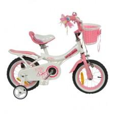 "Велосипед детский RoyalBaby JENNY GIRLS 16"" арт RB16G-4-WHT, белый"