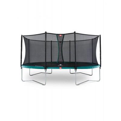 Батут BERG Grand Favorit Regular 520 Green защитная сетка Safety Net Comfort, арт.30.25.65.70