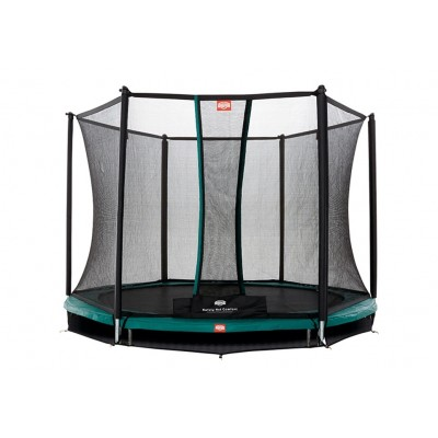 Батут BERG InGround Talent Green 300 Safety Net Comfort, арт. 35.30.10.00