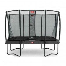 Батут BERG Ultim Champion Regular 330 Grey защитная сетка Safety Net Deluxe, арт.32.35.73.30