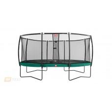 Батут Elite 430 зеленый защитная сетка Т-серии, арт. 37.14.91.00