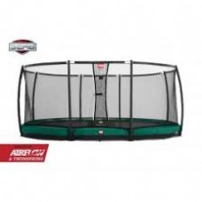 Батут с сеткой Berg InGround Favorit 430 Safety Net Deluxe 430, арт. 35.14.06.00