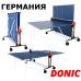 Теннисный стол всепогодный Donic Outdoor Fun blue 230234 - Фото №2