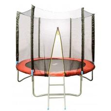 Батут HouseFit HSF 6FT d=1,8м с сеткой и лестницей, арт. 17379