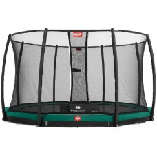 Батут BERG InGround Favorit 14 ft (430 +защ. сетка Deluxe InGround (35.14.47.02+35.72.24.02) 35.14.06.00
