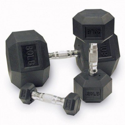 Гантельный ряд гексагональный Alex D-05 10 -30 kg 9 пар