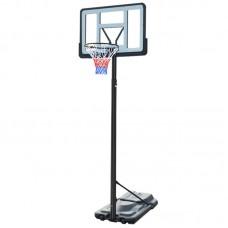 Баскетбольная стойка мобильная SBA S021A 110x75 см