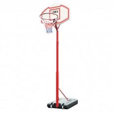 Баскетбольная стойка мобильная SBA PE003 90x60 см