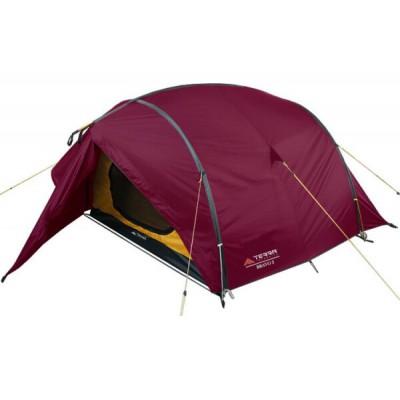 Палатка двухместная Terra Incognita Bravo 2 Alu вишневая (4823081505921)