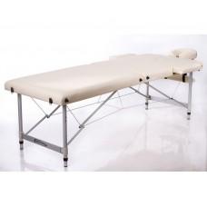 Массажный стол 2-х секционный RESTPRO ALU 2 L бежевый