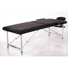 Массажный стол 2-х секционный RESTPRO ALU 2 L чёрный