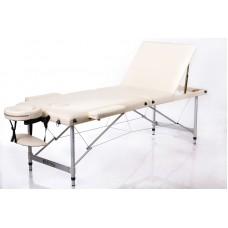 Массажный стол 3-х секционный RESTPRO ALU 3 Бежевый