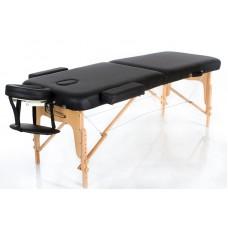 Массажный стол 2-х секционный RESTPRO VIP 2 Черный