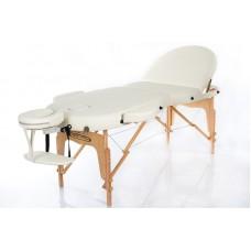 Массажный стол-кушетка RESTPRO VIP OVAL 3 Бежевый