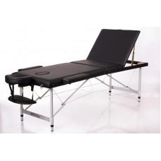 Массажный стол 3-х секционный RESTPRO ALU 3 черный