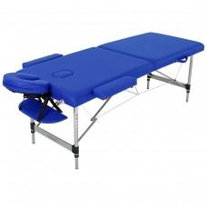 Массажный стол алюминиевый RelaxLine Florence FMA252L-1.2.3, темно-синий