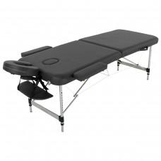 Массажный стол алюминиевый RelaxLine Hawaii FMA256L-1.2, черный