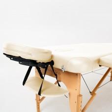 Массажный стол деревянный RelaxLine Malibu FMA306A-1.2.3, светло-бежевый