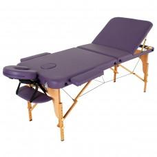 Массажный стол деревянный RelaxLine Malibu FMA306A-1.2.3, фиолетовый