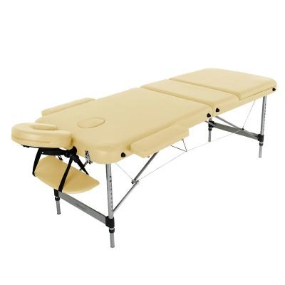 Массажный стол алюминиевый RelaxLine Belize FMA356L-1.2.3 бежевый