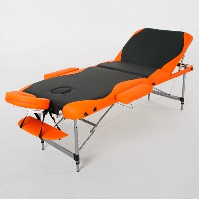 Массажный стол RelaxLine King FMA3051L-1.2.3 черно-оранжевый