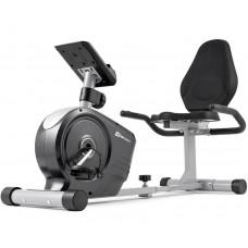 Горизонтальный велотренажер магнитный Hop-Sport HS-2050L Beat Серебристый