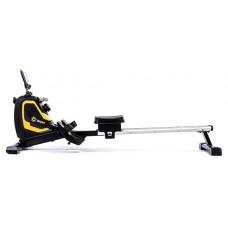 Гребной тренажер магнитный Hop-Sport BS-6032R SWIMMER Черно-желтый