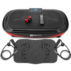 Виброплатформа 4D + массажный коврик + пульт + часы Hop-Sport HS-095VS Crown Черный