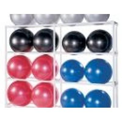 Подставка под гимнастические мячи SPRI Ball Rack (на 16 шт.) SP-RBR16-WT-16