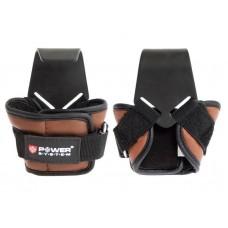 Крюки для тяги на запястья Power System Hooks PS-3300 L Brown