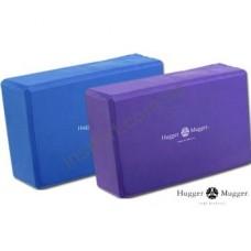 """Блок для йоги HUGGER-MUGGER Foam Block - 4"""" HMFB-4PR"""