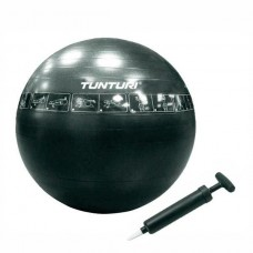 Мяч для аэробики GYM Ball Classic 65 cm Tunturi Inflatable Gymball 65 cm with Pump