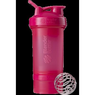 Шейкер спортивный BlenderBottle ProStak 650ml с 2-мя контейнерами Pink FL (ORIGINAL)