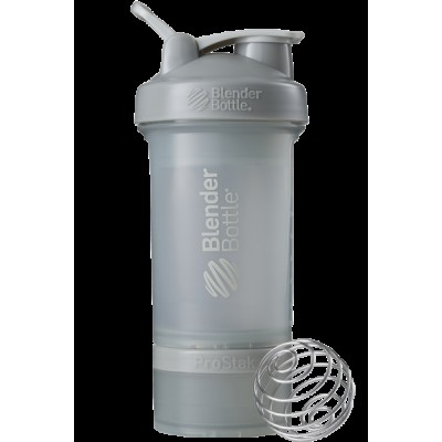 Шейкер спортивный BlenderBottle ProStak 650ml с 2-мя контейнерами Grey (ORIGINAL)