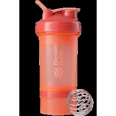 Шейкер спортивный BlenderBottle ProStak 650ml с 2-мя контейнерами Coral (ORIGINAL)
