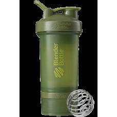 Шейкер спортивный BlenderBottle ProStak 650ml с 2-мя контейнерами Moss Green (ORIGINAL)