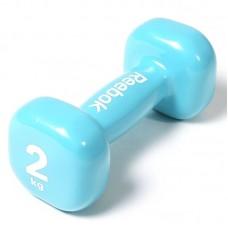 Гантель Reebok RAWT-11152 - 2 кг, голубая