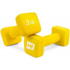 Набор гантелей неопреновых квадратных Hop-Sport HS-V030DS 2х3 кг